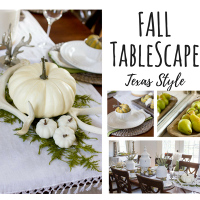 A Fall Tablescape: Texas Style