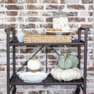 Outdoor S'mores Bar Cart Sneak Peek