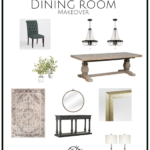 Dining Room Makeover Project Preview